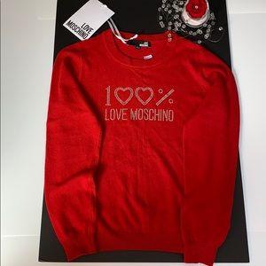 🌸🌸💕💕Brand new Love Moschino sweater💕💕🌸🌸